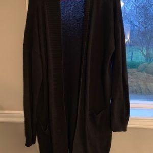 BP black cozy cardigan